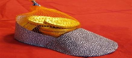 St. Nicholas Craft: Paper Shoe