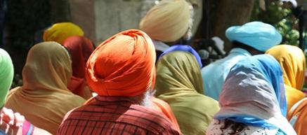 Celebrating Guru Nanak's Birthday at Gurdwara