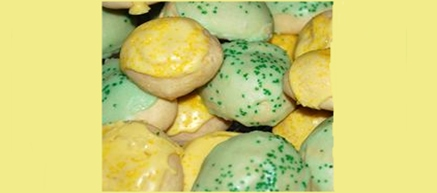 Easter Recipe: Aunt Angie's Italian Cookies