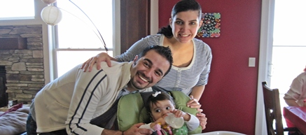Real Intercultural Family in the U.S.: Arabic, Spanish and English